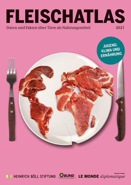 Bild Cover Fleischatlas 2021
